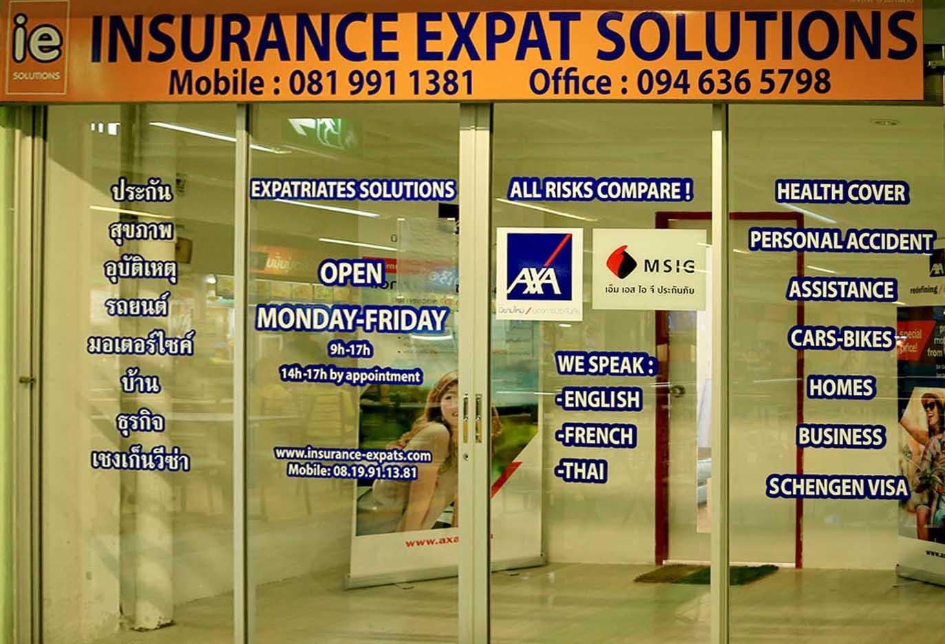 Insurance Chiang Mai, Thailand, Asia